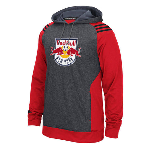 ADIDAS NEW YORK RED BULL MLS CLIMAWARM HOODIE