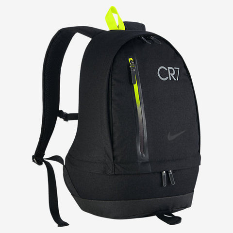 NIKE CR7 CRISTIANO RONALDO CHEYENNE BACKPACK 2016/17 Black/Black/Anthracite.