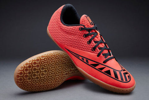 NIKE MERCURIAL PRO IC INDOOR SOCCER SHOES Bright Crimson/Black/Hot Lava
