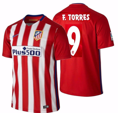 NIKE FERNANDO TORRES ATLETICO MADRID HOME JERSEY 2015/16