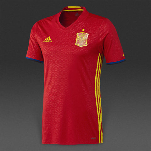 Adidas Spain Authentic Home Jersey 2016 AA0854
