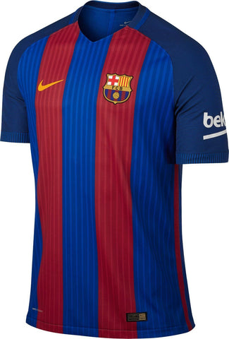 NIKE FC BARCELONA AUTHENTIC VAPOR MATCH HOME JERSEY 2016/17.