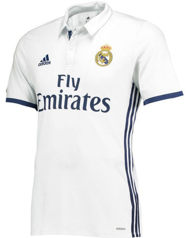 new concept 4ecb4 e0556 ADIDAS REAL MADRID AUTHENTIC ADIZERO HOME MATCH JERSEY 2016/17