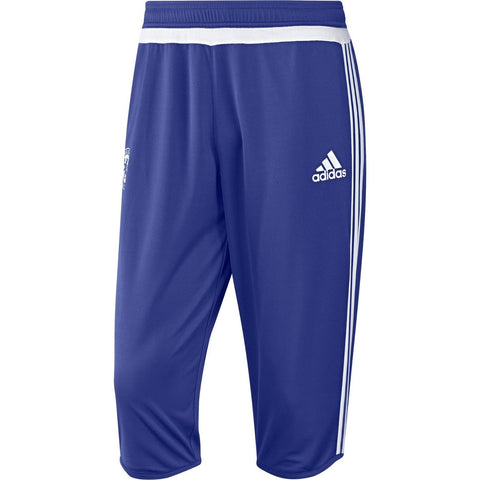 ADIDAS CHELSEA FC 3/4 TRAINING PANTS Blue/White.