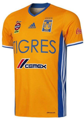 ADIDAS TIGRES UANL HOME JERSEY 2016/17