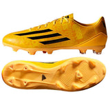 ADIDAS MESSI F10 FG FIRM GROUND SOCCER SHOES Solar Gold/Black/Black