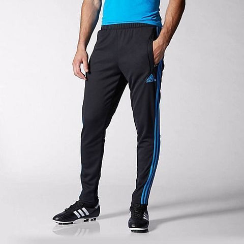 ADIDAS TIRO 13 TRAINING SOCCER PANTS Black/Blue.