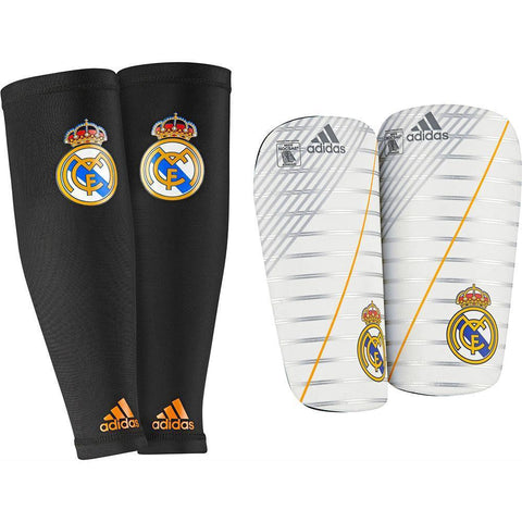ADIDAS REAL MADRID SHINGUARD FOOTBALL SOCCER LA LIGA SPAIN.
