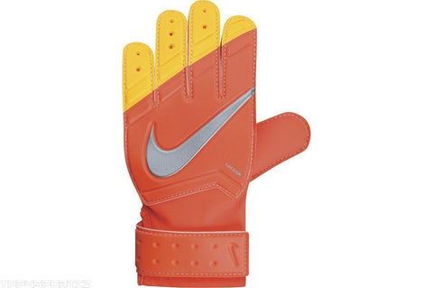 NIKE GK JUNIOR GRIP GOALKEEPER GLOVES YOUTH SIZES Fluorescent magenta/laser oran