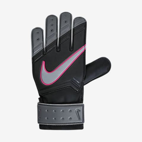 NIKE GK JUNIOR MATCH GOALKEEPER GLOVES YOUTH SIZES Black/Cool Grey/Hyper Pink