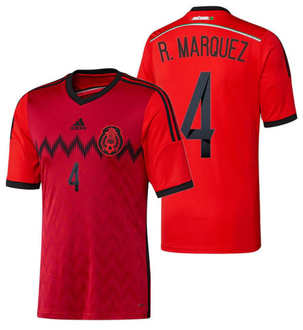 ADIDAS RAFAEL MARQUEZ MEXICO AWAY JERSEY FIFA WORLD CUP 2014 1
