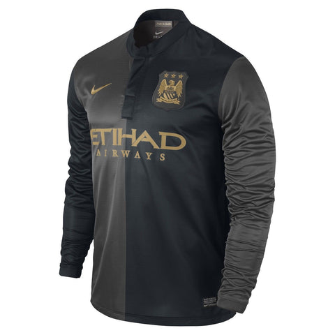 NIKE MANCHESTER CITY LONG SLEEVE AWAY JERSEY 2013/14