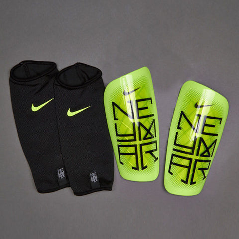 NIKE NEYMAR JR MERCURIAL LITE SHINGUARD Volt/Black