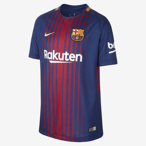 NIKE FC BARCELONA HOME YOUTH JERSEY 2017/18.