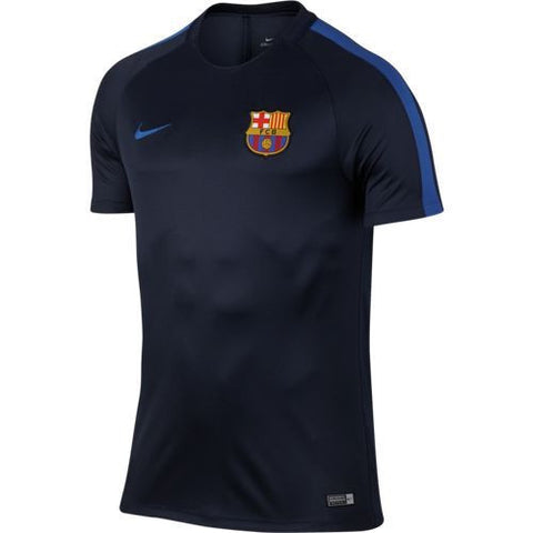 NIKE FC BARCELONA DRY SQUAD TRAINING TOP 2016/17
