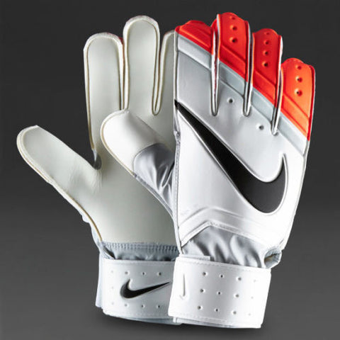 NIKE GK GOALKEEPER CLASSIC GLOVES White/Total Crimson