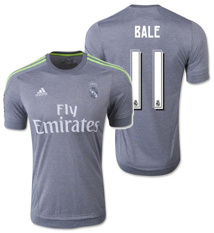 ADIDAS GARETH BALE REAL MADRID AWAY JERSEY 2015/16