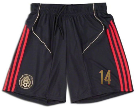 ADIDAS CHICHARITO MEXICO GAME AWAY SHORT 2011/12.