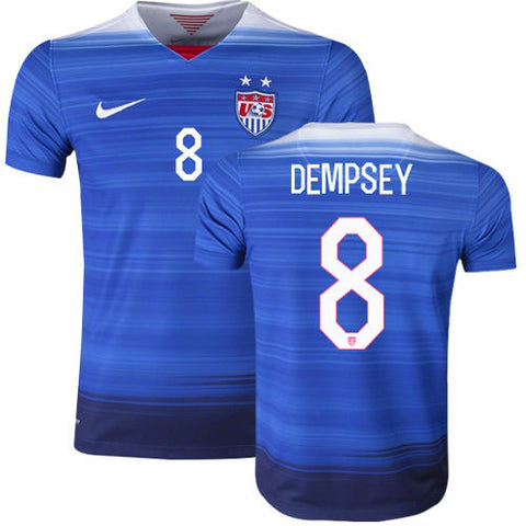 NIKE CLINT DEMPSEY USA AWAY JERSEY 2015/16