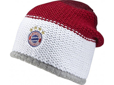 ADIDAS BAYERN MUNICH BEANIE White/Red.
