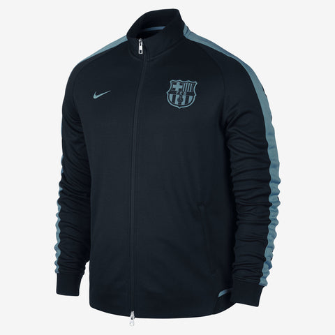 NIKE FC BARCELONA NIGHT RISING AUTHENTIC N98 JACKET Black