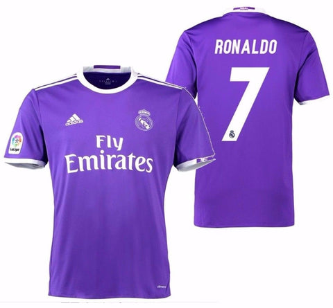 ADIDAS CRISTIANO RONALDO REAL MADRID AWAY JERSEY 2016/17.
