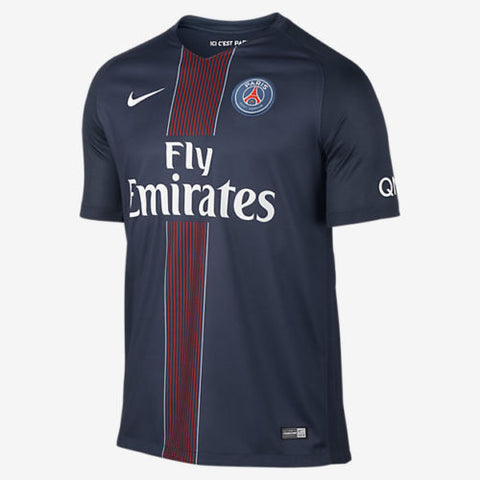 NIKE PARIS SAINT-GERMAIN PSG HOME JERSEY 2016/17.