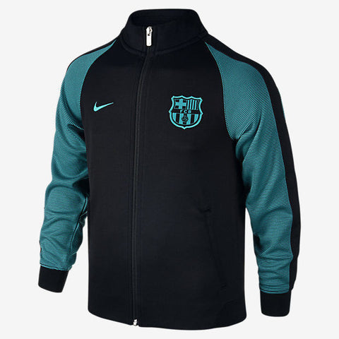 NIKE FC BARCELONA AUTHENTIC N98 YOUTH JACKET 2016/17 Black/Energy