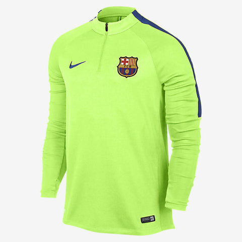 NIKE FC BARCELONA DRILL TRAINING TOP 2017 Ghost Green 1