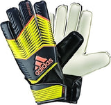 ADIDAS PREDATOR JUNIOR GOALKEEPER GLOVES 2015 YOUTH SIZES Black/Yellow