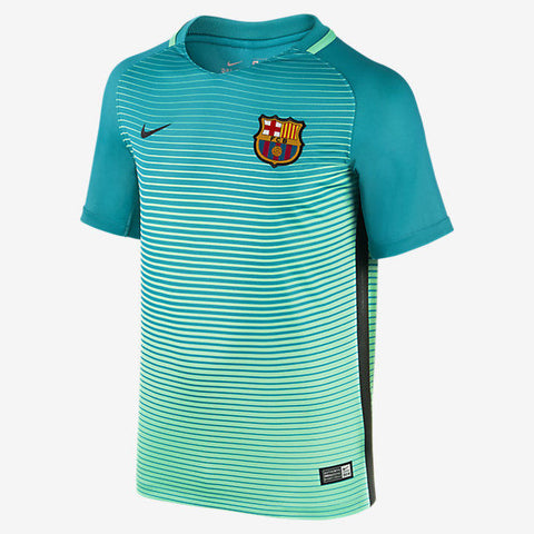 NIKE FC BARCELONA THIRD YOUTH JERSEY 2016/17 1
