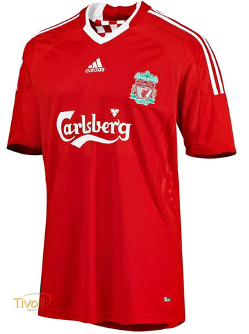 ADIDAS LIVERPOOL FC HOME JERSEY 2009/10.