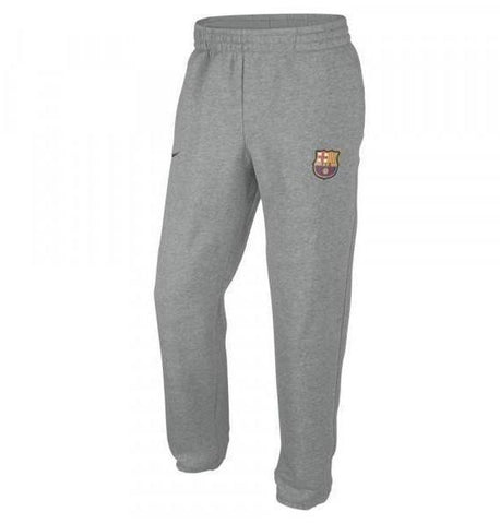 NIKE FC BARCELONA CORE FLEECE PANTS Gray.