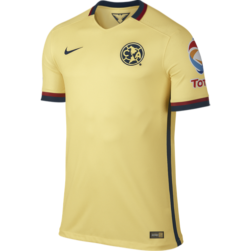 Nike Club America Authentic Match Home Jersey 2015 16 Realfootballusa Net