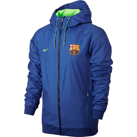 NIKE FC BARCELONA AUTHENTIC WOVEN WINDRUNNER JACKET.
