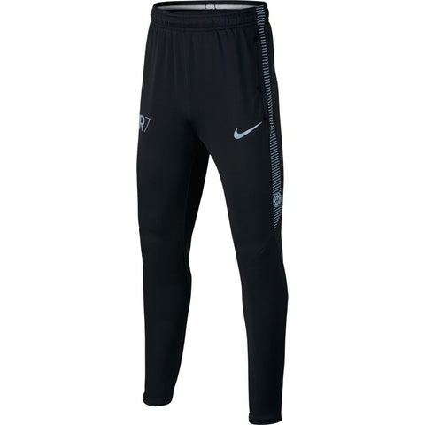NIKE CRISTIANO RONALDO CR7 DRY SQUAD YOUTH TRAINING PANTS Black/Blue Tint