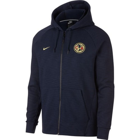 NIKE CLUB AMERICA FULL ZIP OPTIC HOODIE 2018/19.