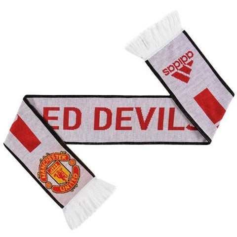 ADIDAS MANCHESTER UNITED FC SUPPORTERS SCARF 1