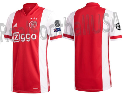ADIDAS AJAX AMSTERDAM UEFA CHAMPIONS LEAGUE HOME JERSEY 2020/21 1