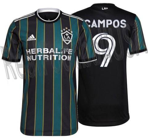 ADIDAS JORGE CAMPOS LA GALAXY AUTHENTIC MATCH AWAY JERSEY 2021 2022 1