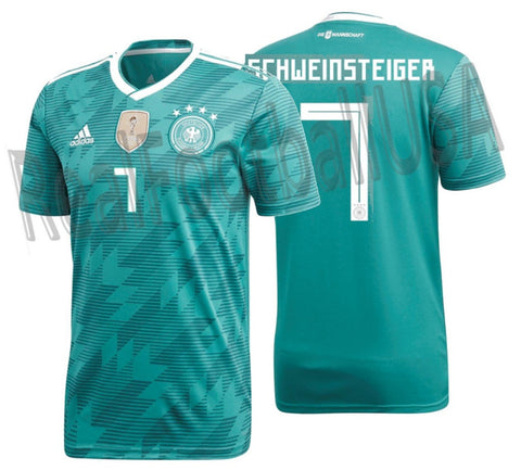ADIDAS BASTIAN SCHWEINSTEIGER GERMANY AWAY JERSEY FIFA WORLD CUP 2018 1