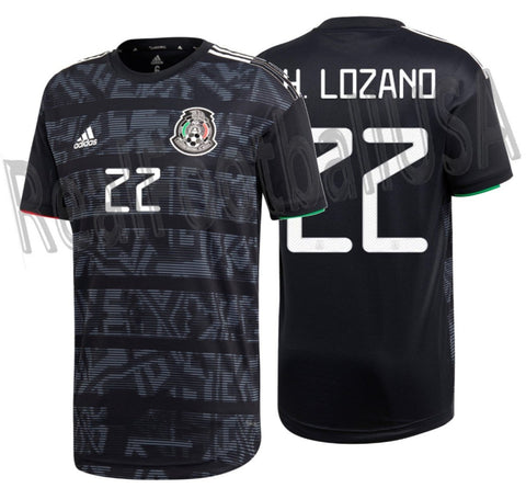 ADIDAS HIRVING LOZANO MEXICO AUTHENTIC MATCH HOME JERSEY 2019 1