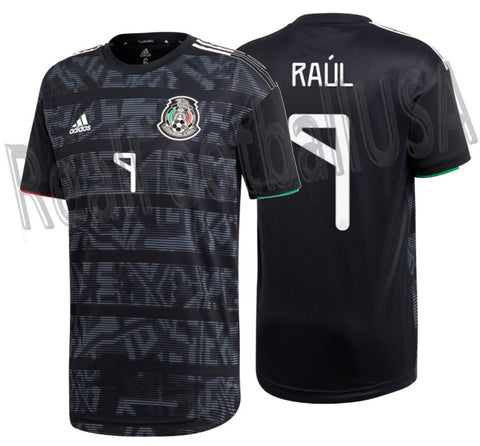 ADIDAS RAUL JIMENEZ MEXICO AUTHENTIC MATCH HOME JERSEY 2019 1