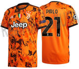 ADIDAS ANDREA PIRLO JUVENTUS UEFA CHAMPIONS LEAGUE THIRD JERSEY 2020/21 1