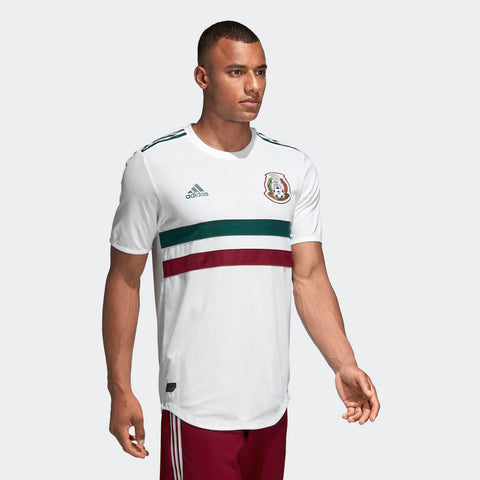 91a008c54c6 ... Adidas Lozano Mexico Authentic Away Jersey 2018 Patches BQ4682 3 ...