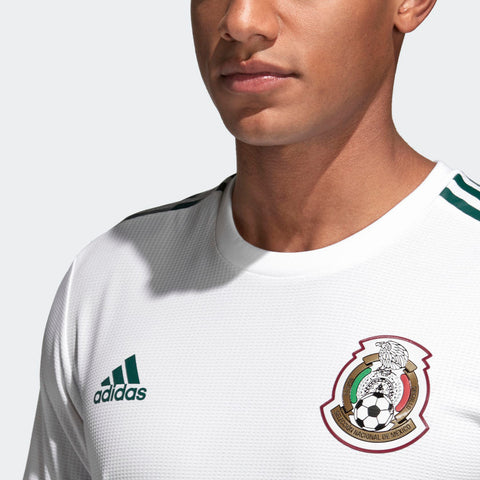 592f427fd55 ... Adidas Lozano Mexico Authentic Away Jersey 2018 Patches BQ4682 4 ...