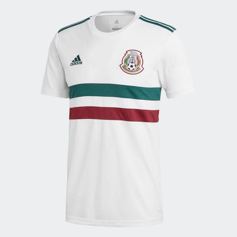 best website cbfd4 fc465 ADIDAS HIRVING LOZANO MEXICO AWAY JERSEY FIFA WORLD CUP 2018.