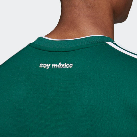 ab02e62d01c ... ADIDAS HIRVING LOZANO MEXICO LONG SLEEVE HOME JERSEY WORLD CUP 2018  MATCH DETAIL ...