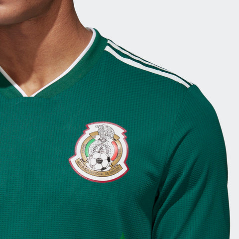 a2f1adeabea ADIDAS HIRVING LOZANO MEXICO AUTHENTIC HOME MATCH DETAIL JERSEY WORLD CUP  2018.