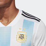 ADIDAS LIONEL MESSI ARGENTINA HOME JERSEY WORLD CUP 2018 FIFA PATCHES.